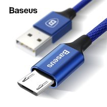 Baseus Micro USB Cable For Xiaomi Redmi Note 5 Pro 4X 4 Charger Cable For Samsung Huawei USB Phone Charger Charging Data Cable