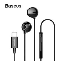 Baseus C06 USB Type-c Earphone Stereo Sound Earbuds With mic for Xiaomi mi 9 se redmi note 7 pro Huawei p30 pro Meizu note 9