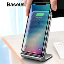Baseus Intelligent Cooling Wireless Charger Desktop Multifunction Wireless Charging Pad For iPhone X/XS Max XR Samsung Note 9 S9