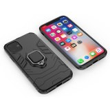 For Apple iPhone 11 Pro Max Case Luxury Ring Stand Holder Protect Silicone Cover For iPhone 11Pro X XS MAX XR Coque Armor Shell