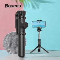Baseus Wireless Bluetooth Selfie Stick for iPhone/Android/Huawei Foldable Handheld Monopod Shutter Remote Extendable Mini Tripod