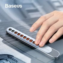 Baseus Metal Car Temporary Parking Card Plate Hideable Car Phone Telephone Number Card with Luminious Numbers at Night