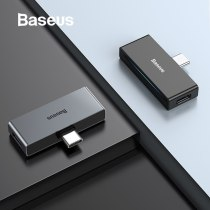 Baseus L57 USB Type c Adapter usb c to 3.5mm aux Earphone Headphone adapter with PD 18W Quick Charging for type c Jack Phone