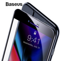 Baseus 0.23mm Tempered Glass For iPhone 7 8 Plus Screen Protector Ultra Thin 3D Full Screen Protector For iPhone 7 8 Glass Film