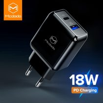 Mcdodo 18W PD Multi USB Charger Quick Charge 3.0 For iPhone 11 XS Max Huawei P30 Mate 30 Fast Charging SCP EU Plug Wall Adapter