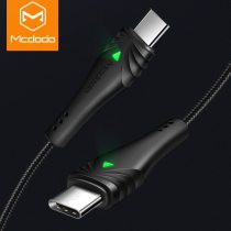 MCDODO 60W 3A Fast PD Type C To Type-C Data Cable Quick Charge 4.0 Charging For Samsung S9 Huawei P20 USB C Mobile Phone Charger