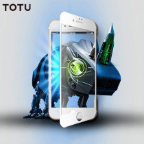 TOTU Protection Tempered Glass Front Screen Protecto 9H Surface Hardness 3D Soft Edge Anti-blue Light Eye  for iPhone 8 & 7