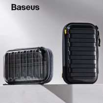 Baseus Waterproof Digital Bag USB Cable SD Card Earphone Mobile Phone Storage Bag Pouch Organizer Bag Travel Accessories Bags