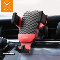 MCDODO Gravity Car Phone Holder Air Vent Clip Mount No Magnetic Mobile Support Smartphone GPS Stand For iPhone X 7 Xiaomi in Car