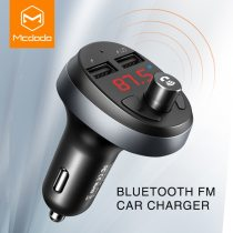 MCDODO FM Transmitter LED Dual USB Car Charger Auto Bluetooth 4.2 Handsfree Wireless Car Kit Audio MP3 Player For iPhone Xiaomi