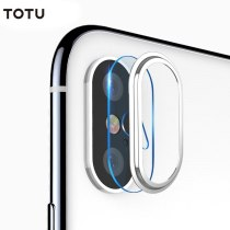 TOTU Rear Camera Lens Protector Tempered Glass Film Camera Lens Protective Film Set for iPhone X / iPhone XS / iPhone XS Max