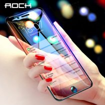 ROCK Anti-Blue Light Screen Protector For iPhone 8 7 6 6s Plus Tempered Glass 9D Curved Protective Glass for iphone 8Plus