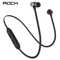 ROCK Wireless Bluetooth Earphone Neckband Sports Stereo Earbuds Waterproof Running Headset with Mic for iPhone Samsung