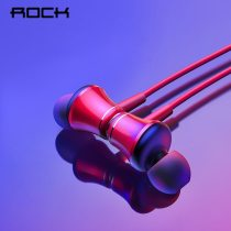 ROCK Magnetic Wireless Bluetooth Earphone with Mic Sport Headset Stereo Earbuds Neck Headset Bass Stereo Handsfree In-ear