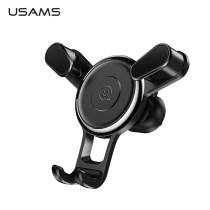 360 Degree Rotating Air outlet Gravity Bracket Car Phone Holder USAMS 4~6 inch Mini Car Holder Air Vent Mount Mobile Phone Stand