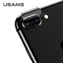 2pcs For iPhone 7 8 plus USAMS camera Lens Screen Protector Tempered Glass Film 9H Corning Gorilla Glass Scratch Proof len cover