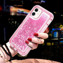 Bling Quicksand Case For iPhone 11 Pro Max X XS MAX 7 8 6 6s Plus Glitter Liquid Hard Protect Cover For iPhone XR Coque