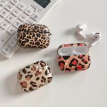Silicone Case Leopard Print  for  Airpods Pro TWS Bluetooth Earphone E65A
