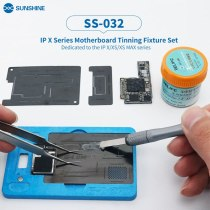 New Upgrade SS-032 Reballing Platform Motherboard Middle Layer Fixture Holder for iPhone X XS XSMAX With Stencil