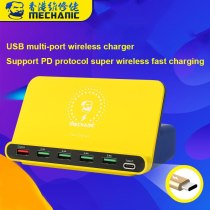 Mechanic USB Charger 6 Port Universal  Smart Fasting Charge for Phone Tablet Mac Charging Support PD Protocol