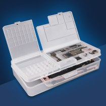 SS-001A Phone Repair Storage Box Phone Motherboard IC Chip Parts Organizer Multi-function Phone Repair Component Storage Box