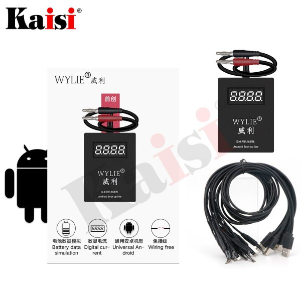Power Supply iPower test Cable for Android Universally HUAWEI Samsung XIAOMI OPPO VIVO Repair test Battery power supply line