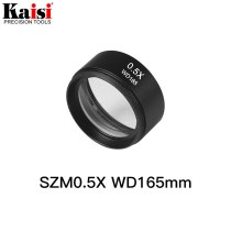 Kaisi SZM0.5X Auxiliary Objective Lens For Stereo Zoom Microscope WD165mm Free Shipping