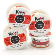 Kaisi 0.3 / 0.4 / 0.5 / 0.6mm solder wire electronic components soldering tools electronic repair BGA rework solder wire