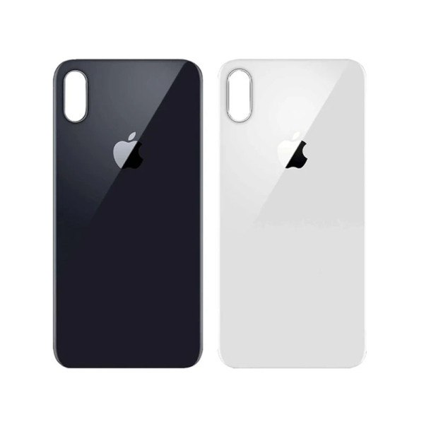 For iPhone X Back Glass Cover Replacement Big Camera Hole