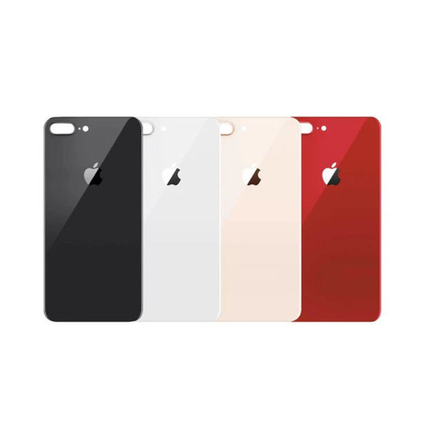 For iPhone 8 Plus Back Glass Replacement Big Camera Hole