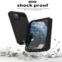 For iPhone 6S 7 8Plus XS XR MAX 11 Pro Case Waterproof and Fall Proof Mobile Phone Case All Covered With Metal