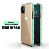 For iPhone 13 12 PRO MAX 11 X XR XS MAX6s 6 7 8 Plus The 2019 TPU anti-fall Transparent Color Phone Shell