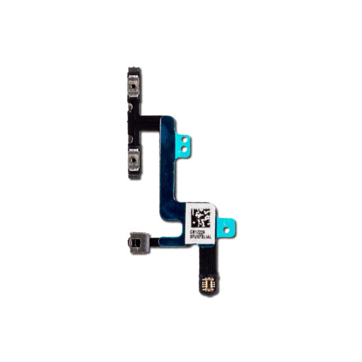 For iPhone 6 Volume Control Button Ribbon With Metal Bracket Flex Cable