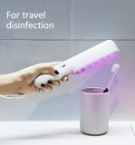 Handheld Ultraviolet Sterilizer Lamp Home Office Travel Ultraviolet Portable Disinfection Lamp Battery UV Sterilization Lamp
