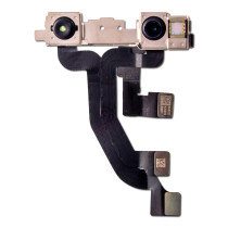 For iPhone XS  Front Camera Module Flex Cable Repair Part with Sensor Proximity Light Replacement Front Facing Camera Cable