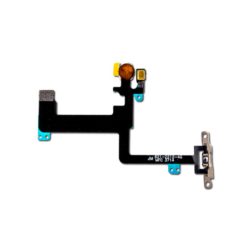 For iPhone 6 Plus Power Button Flex Cable with Metal Holder