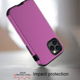 For iPhone 6S 7 8 Plus XS XR MAX 11 Pro Case Three-in-one anti-drop Mobile phone case Anti-fingerprint