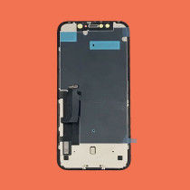 For iPhone XR OEM LCD Display with Metal Touch Screen Digitizer Assembly Replacement