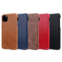 For iPhone 12 Pro Max 7 8 Plus XS XR MAX  11 pro Case Vintage Leather Matte Mobile Phone Case