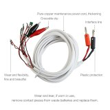 BEST 6 in 1 Professional DC Power Supply Phone Current Test Cable for iPhone XS X 8Plus 8 7Plus 7 6 Plus 5S 5 4S 4 Repair Tools