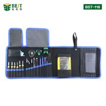 BST-118 Precision Screwdriver Set 67 in 1 Magnetic Driver Kit with Portable Bag for iPhone 8 8 Plus Cellphone Game Console