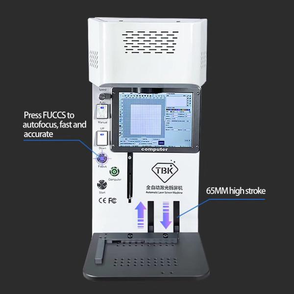2020 TBK 958B New Version Laser Separating Machine Fiber Laser Engraving Machine for iPhone 8-12 Pro Max