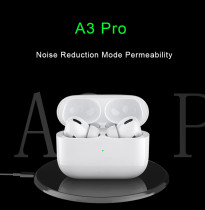 A3 Pro TWS Bluetooth Earphone Headphone Wireless Earbuds Bluetooth Headset with Charging Box for Smart Phone Auriculars