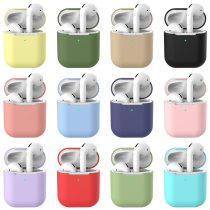 Soft Silicone Case For Apple AirPods 1/2 Case Candy Color Case For AirPods 2 Slim Shockproof Earphone Protective Cover Accessory