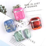 Marble Earphone Case Bag For Apple Airpods 2 Slicone Soft Protective Case For Airpods Accessories Bluetooth Earphone Cover