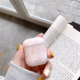 Trendy Earphone Cases on For Airpods 1 2 Marble Pattern Case Cover Charging Box Shell For AirPods 1 Air Pods 2 Protective Sleeve