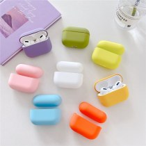 Original Case For Apple Airpods Pro Wireless Bluetooth Earphone Case Candy Color Box For AirPods Pro Airpods 3 Hard Cute Cover