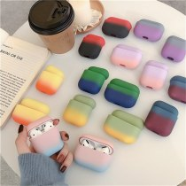 For AirPods Pro 1/2 Case Gradient Earphone Case Plastic Hard PC Protective Case Fundas For Air Pods 1st 2nd For Airpods Pro 3