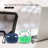 For Apple AirPods Pro Case Silicone 2020 Wireless Charging Protective Skin Cover Bluetooth Headphone Shockproof Sleeve