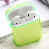 Transparent PC Headphone Case For Airpods Wireless Bluetooth Earphone Case Protective Cover Anti-drop Shockproof Bags Box